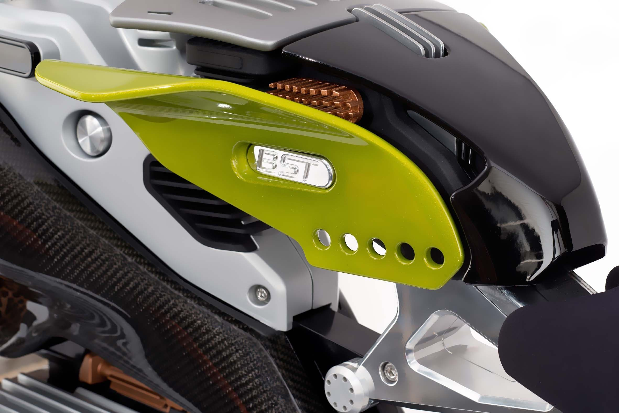 BST HyperTEK electric motorcycle