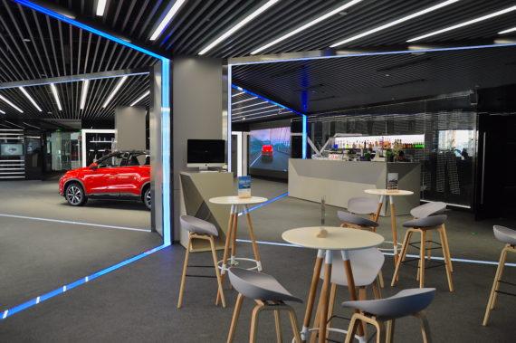 Xpeng Motors Experience Center, Photo Nicolas Zart