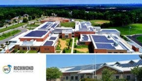 Rooftop Solar Power Richmond Public Schools Virginia