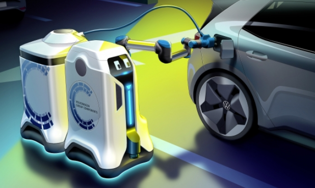 Volkswagen automated charging systrem