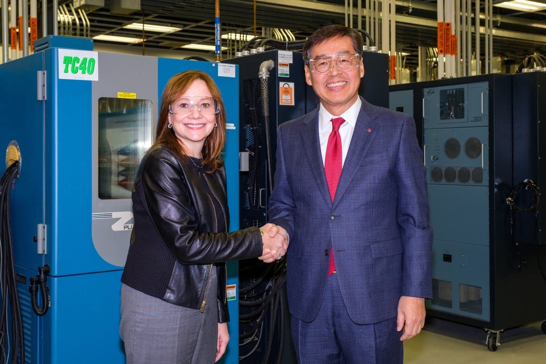 GM And LG Chem Plan $2.3 Billion Electric Battery Venture In Ohio