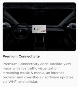 """Tesla's """"Premium Connectivity"""" Will Now Set Owners Back ..."""