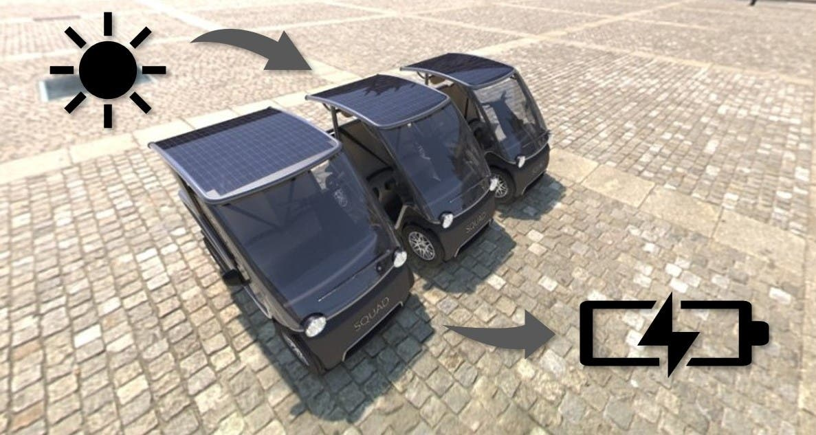 photo of Squad Mobility Redefines Affordable With Its $6,300 Solar-Powered Urban Electric Vehicle image
