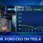 former Ford CEO on Tesla