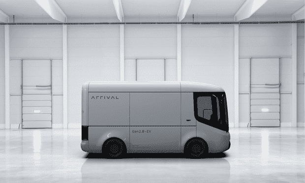 Arrival electric delivery van
