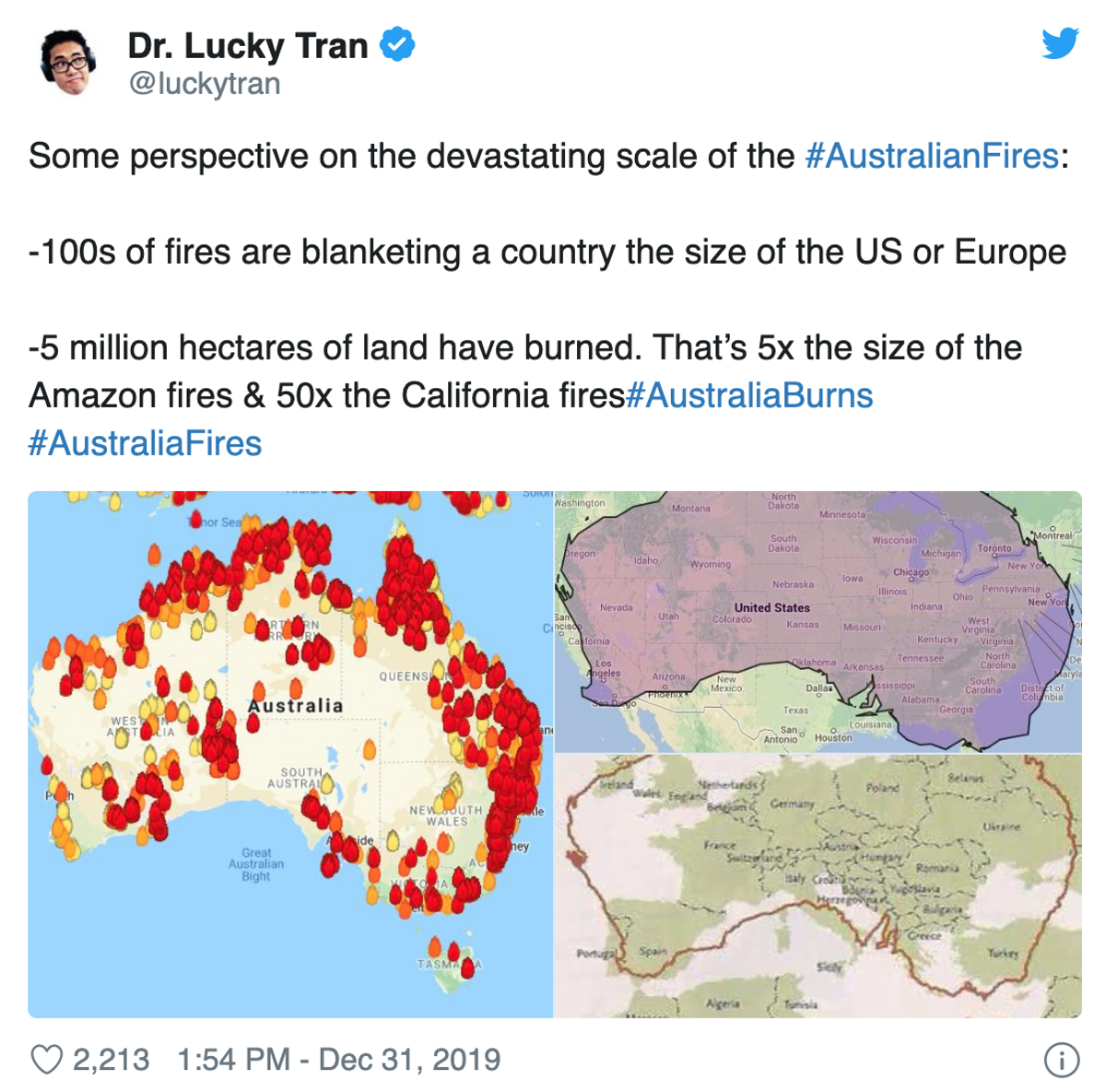 Some Stunning Perspective On The Australian Fires ...