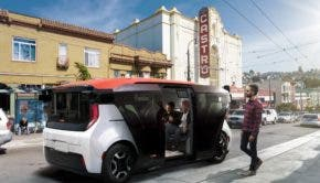 Cruise Origin autonomous shuttle