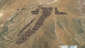 Gemini solar power plant Nevada