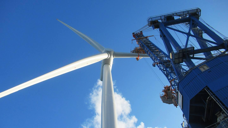Hornsea One wind turbine