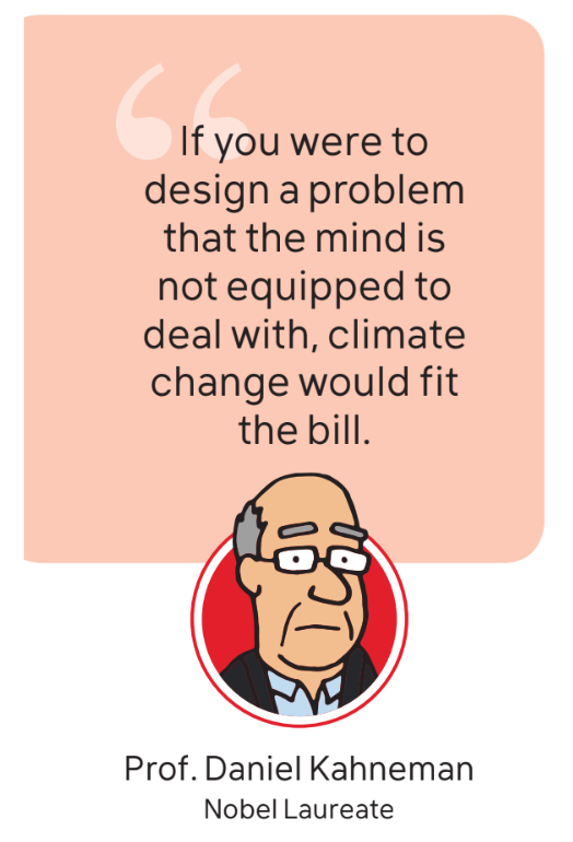 Quote from Nobel Laureate Daniel Kahneman