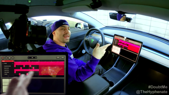 The Hyphenate Makes A Beat With Tesla's TRAX (Video)