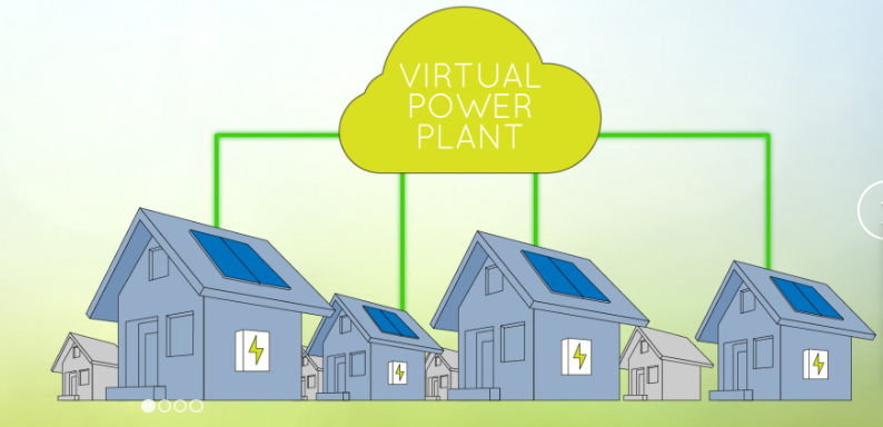 virtual power plant with battery storage