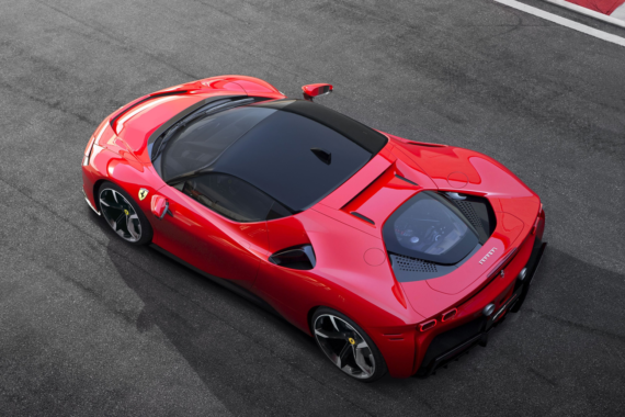 Video: Making The Ferrari SF90 Stradale Hybrid Supercar - CleanTechnica