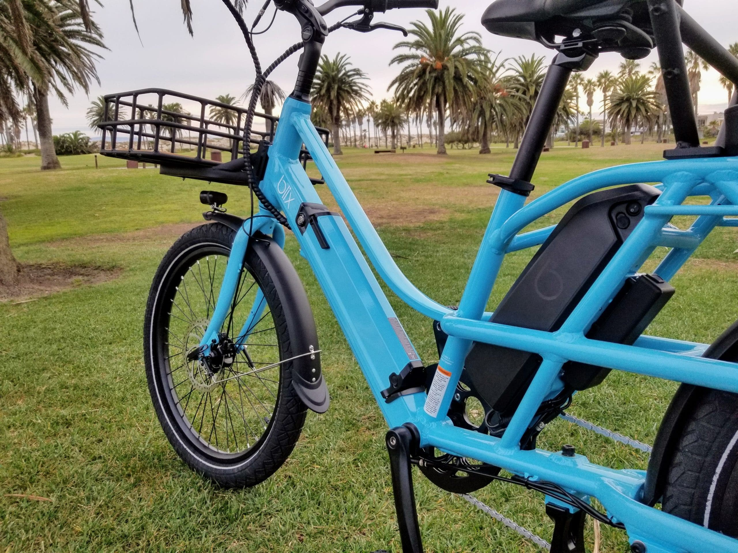 The Blix Packa electric cargo bike