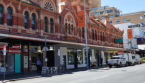 Adelaide shopping district