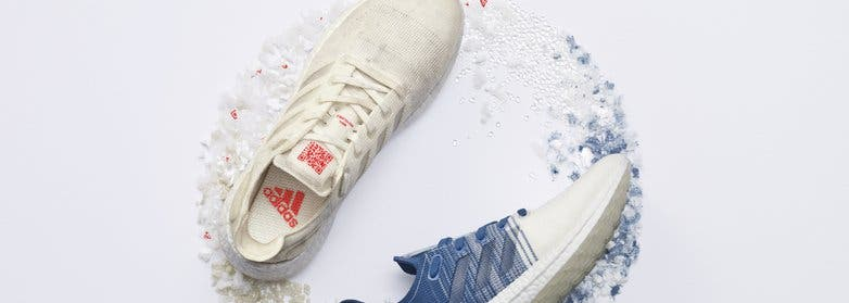 Adidas recycled PET initiative