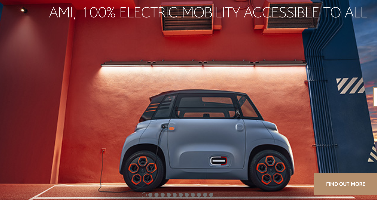 Citroen's super-cheap Ami electric city pod needs no license