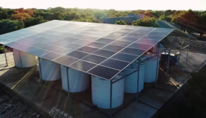 GivePower solar desalinization plant