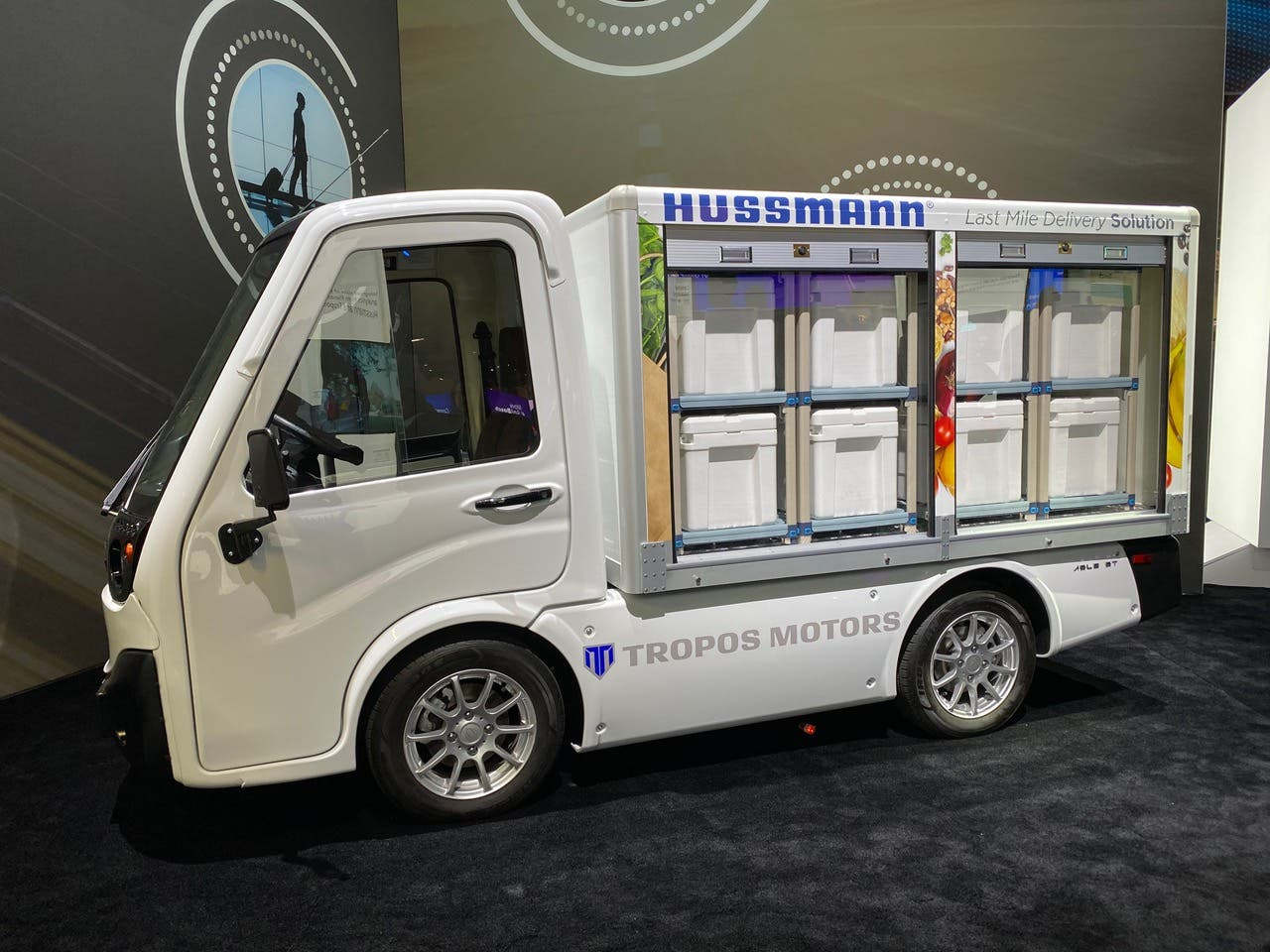 Tropos Motors' ABLE electric truck