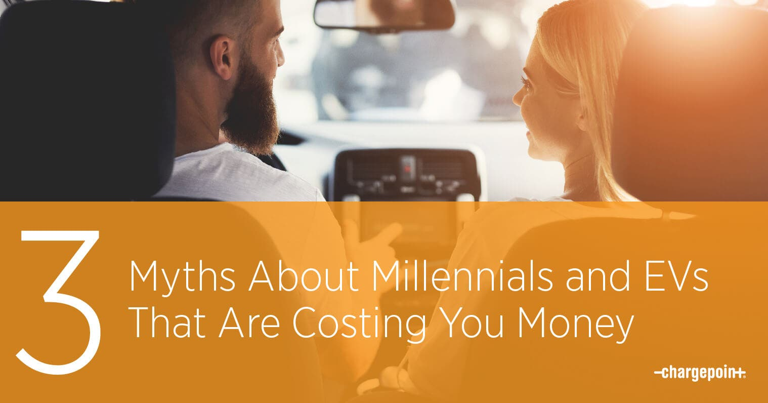 3 Myths About Millennials & Electric Vehicles That Are Costing You Money
