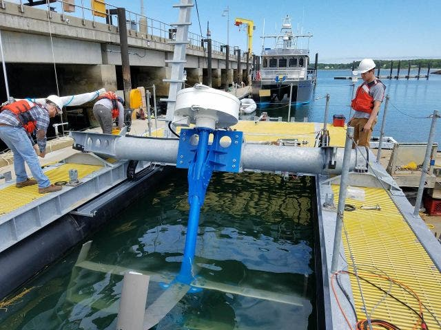 The American Energy Innovation Act authorizes funding for new clean energy research and development, including marine and hydrokinetic energy. Photo by Ian Gagnon/Department of Energy