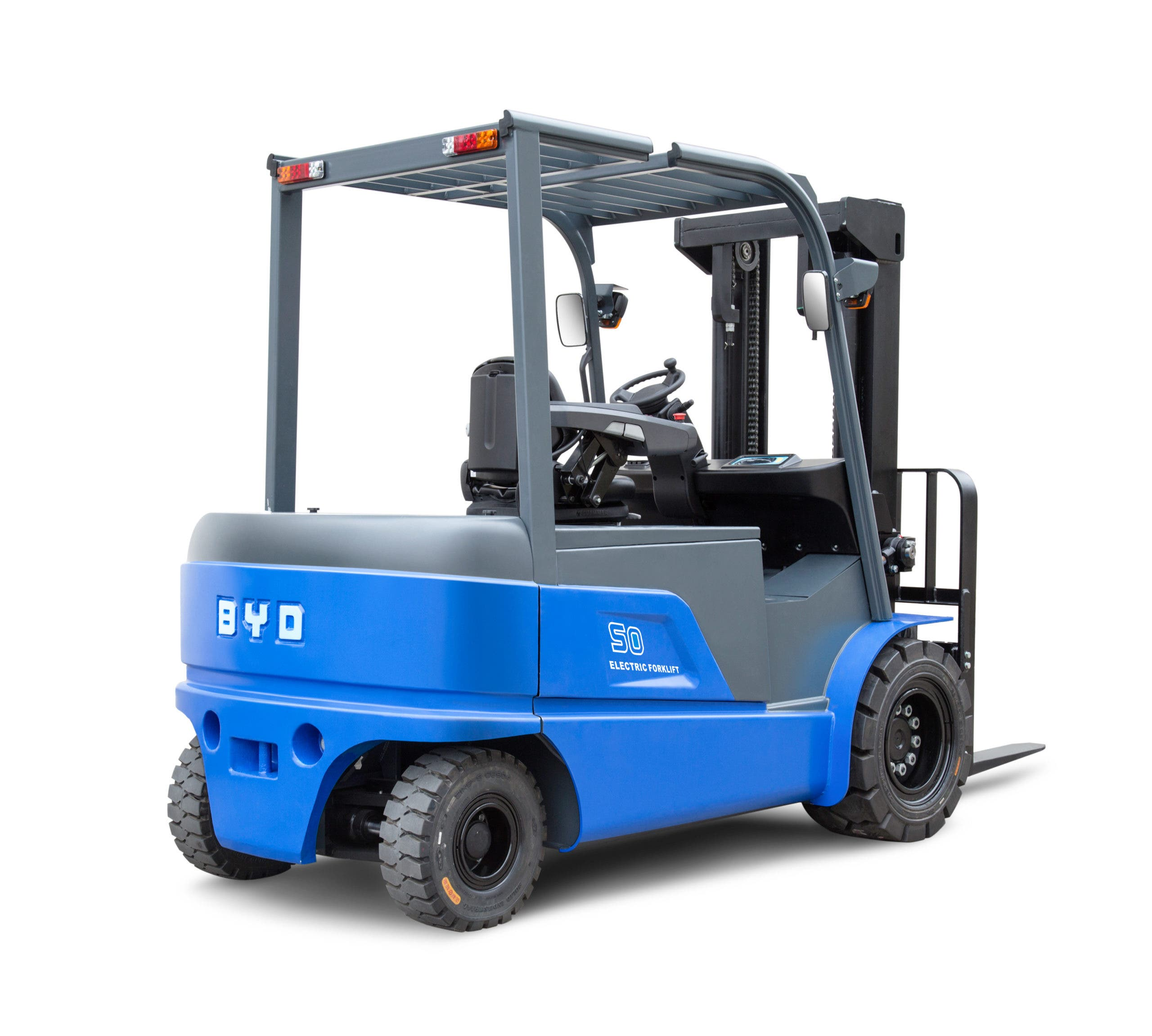 BYD ECB50 counterbalance forklift