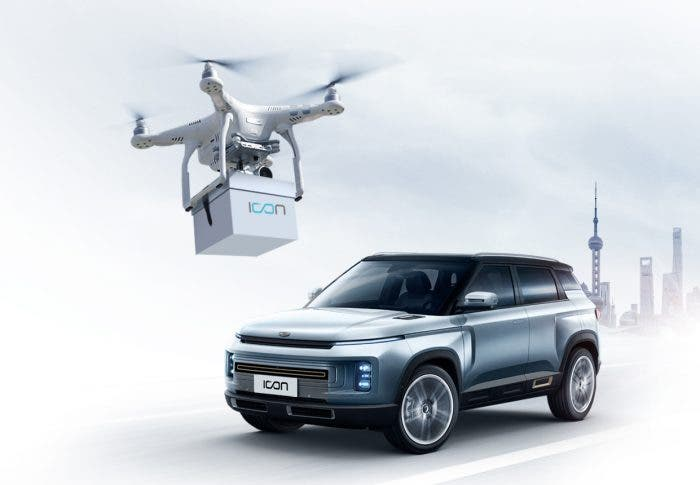 Geely Drone Delivery - selling cars during COVID-19