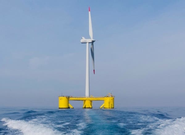 offshore wind floating turbines