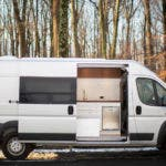 Ram Promaster Van with Tesla Battery