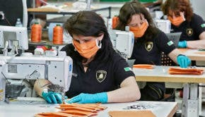Lamborghini Seamstresses Make Surgical Masks, PPE