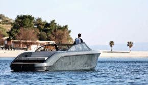 Rand Electric Motor Boat
