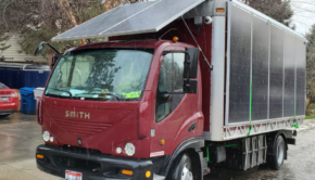 solar powered electric truck