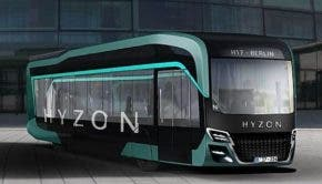 Hyzon fuel cell bus