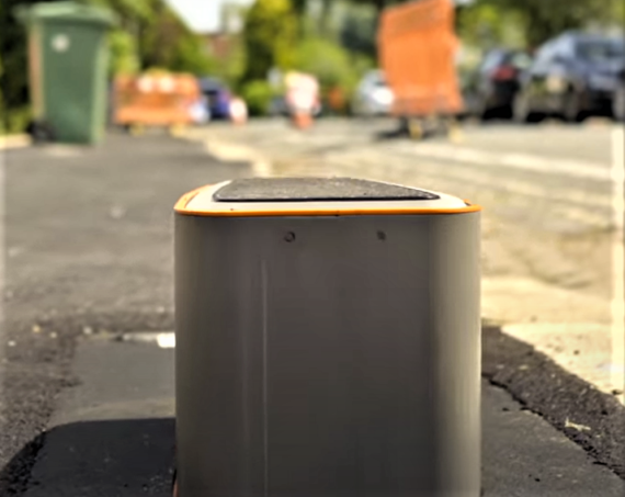 """""""Where's The Bloody Charge Point?"""" — Urban Electric Pop-Up Charger"""