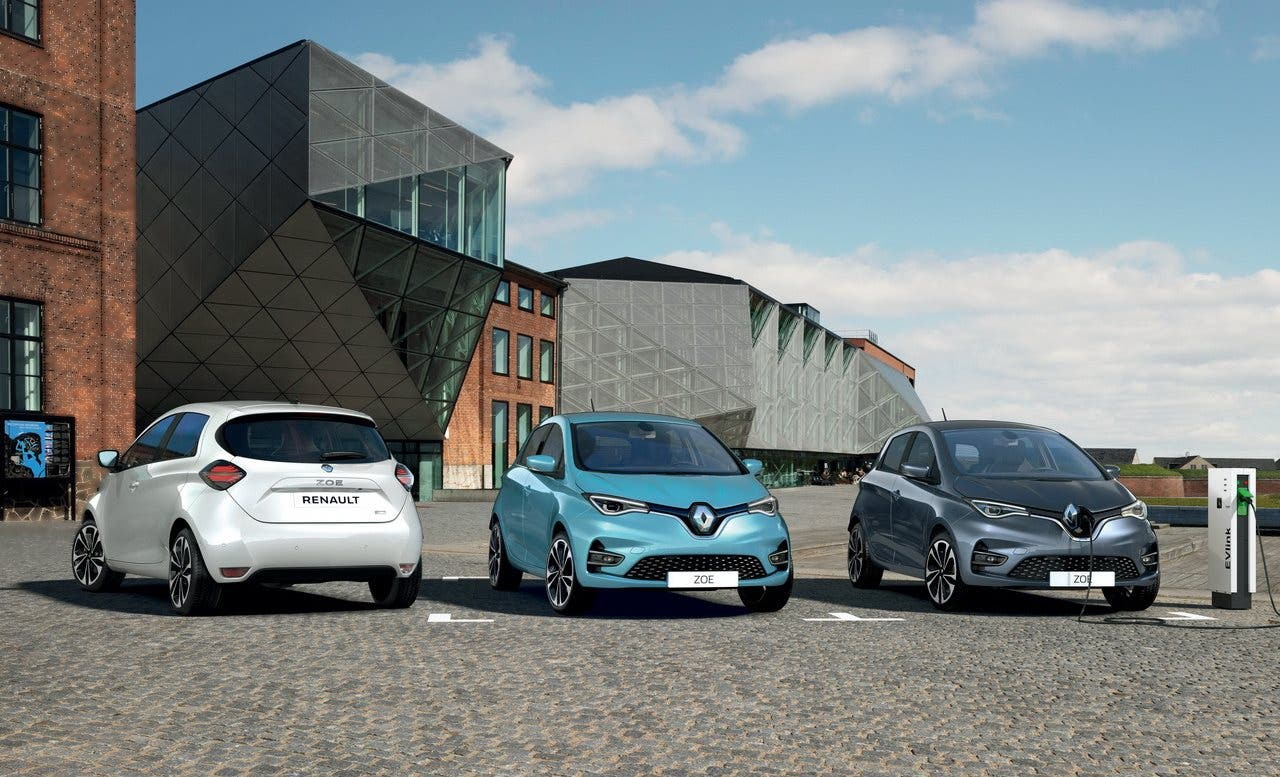 Renault Zoe Press Image