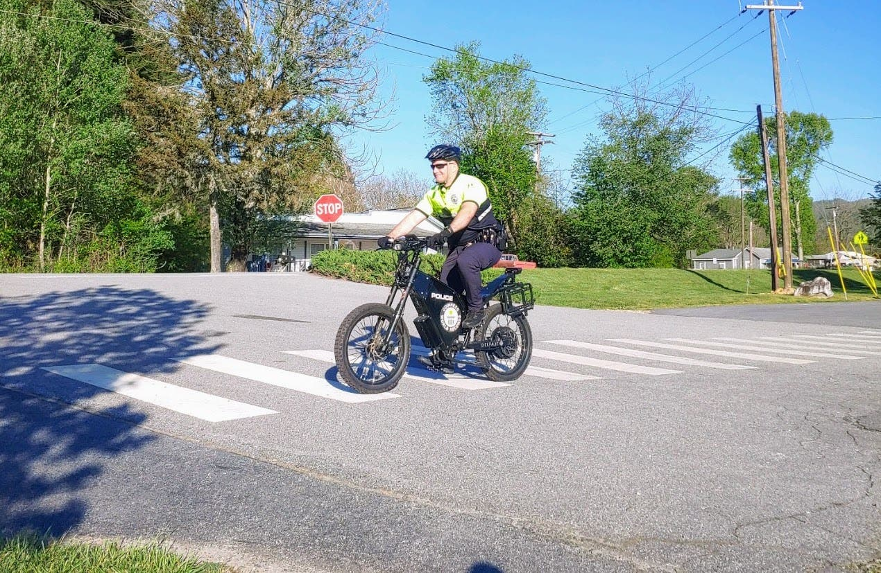The Delfast TopCop electric bike