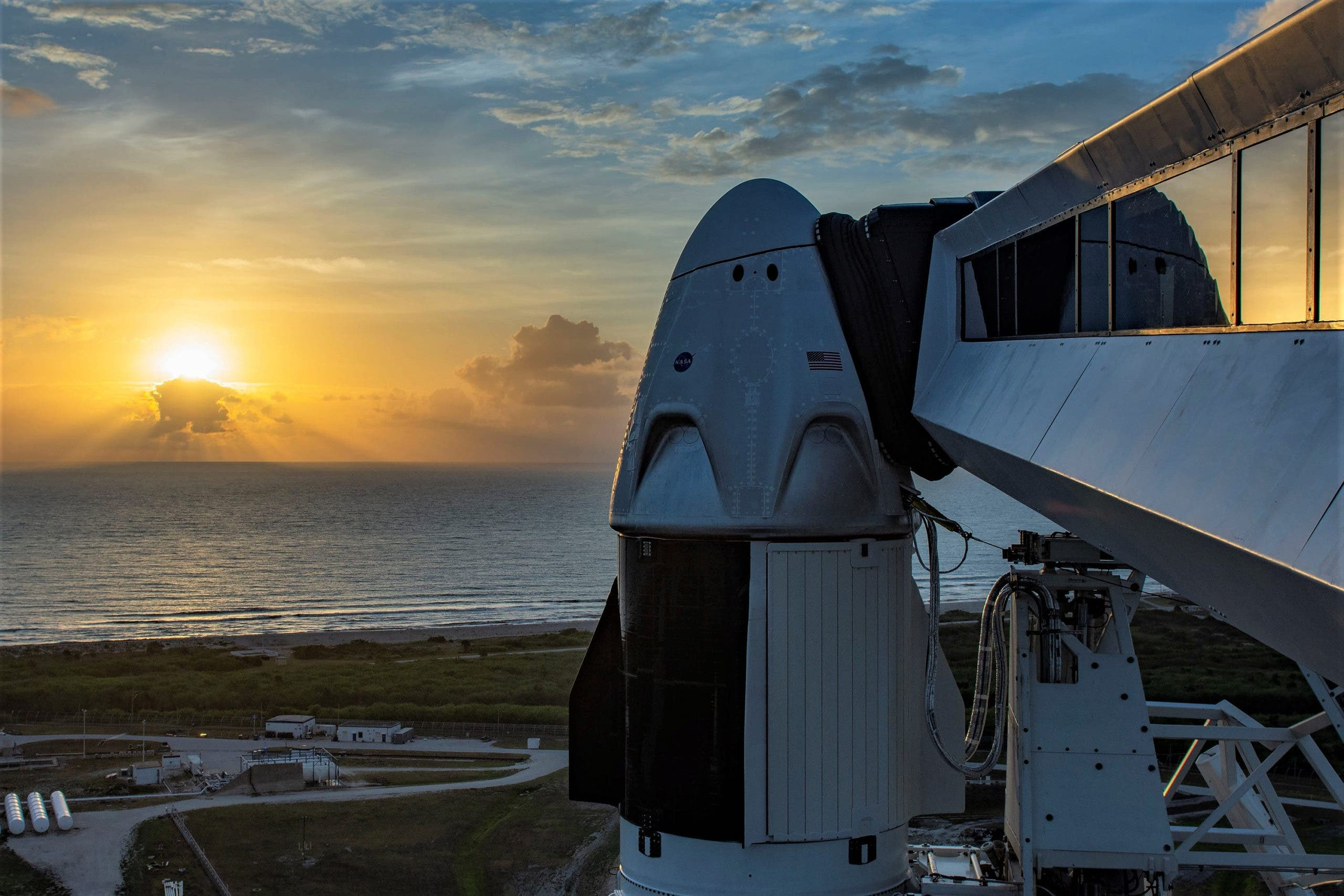 SpaceX Demo-2 commercial crew mission passes flight readiness review