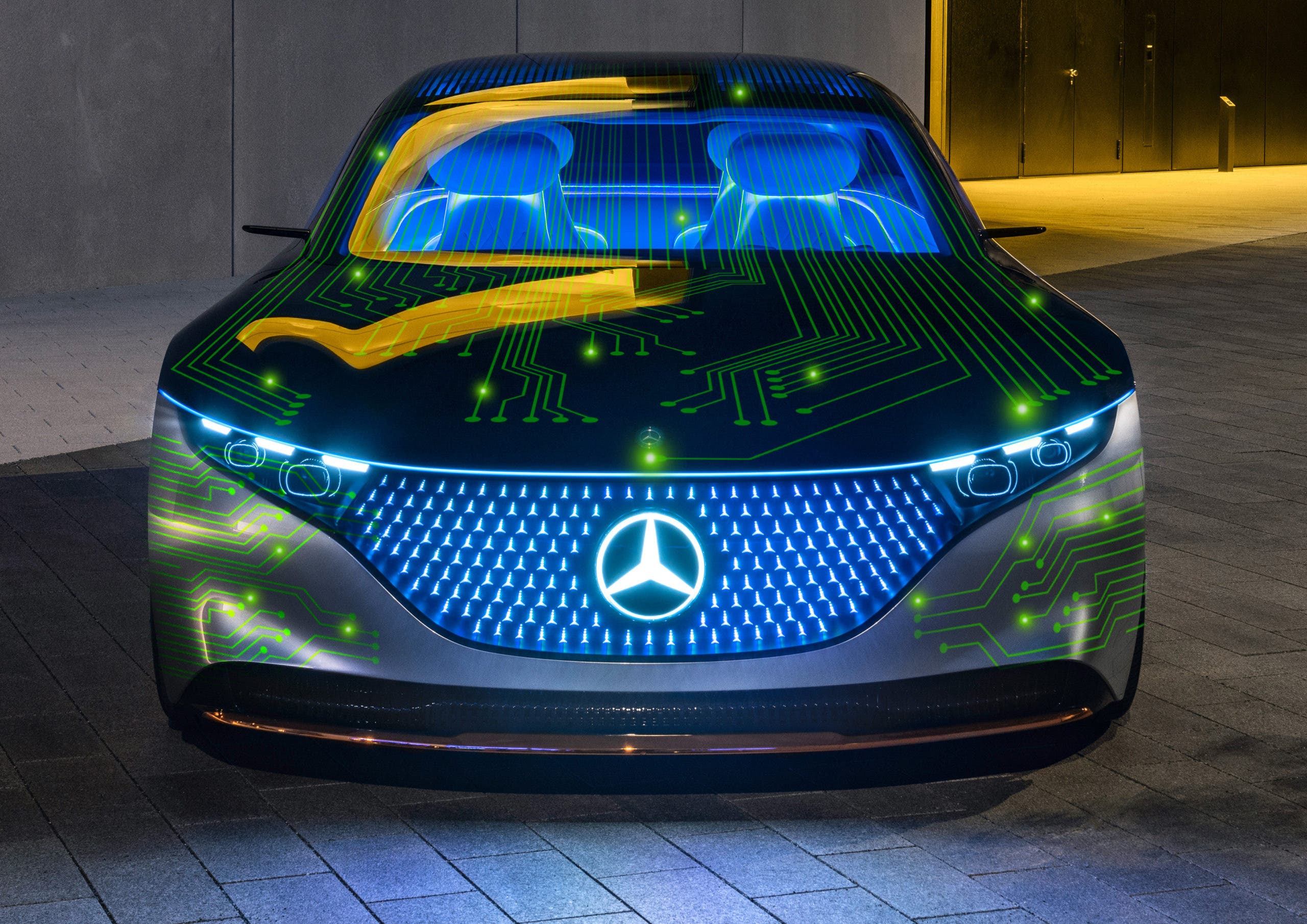 Mercedes-Benz and Nvidia team up on self-driving vehicle tech