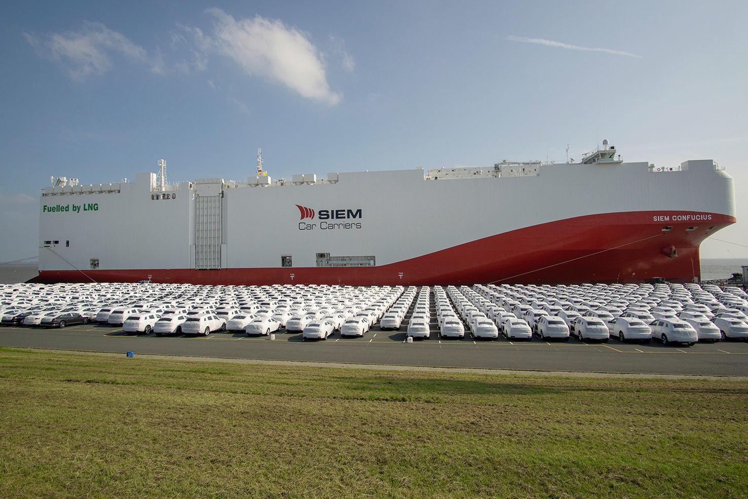 Volkswagen LNG car carrier