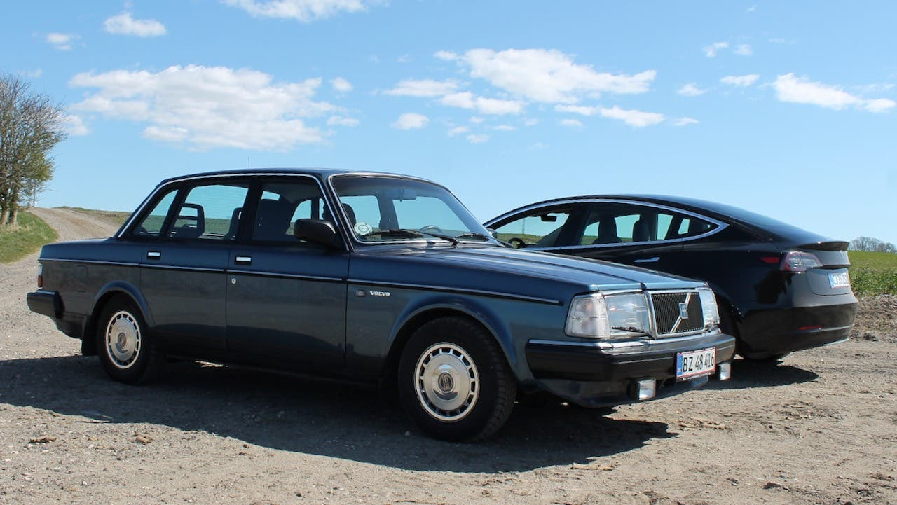 Volvo 240 Vs Tesla Model 3 The Ultimate Daily Drivers Of Past Present