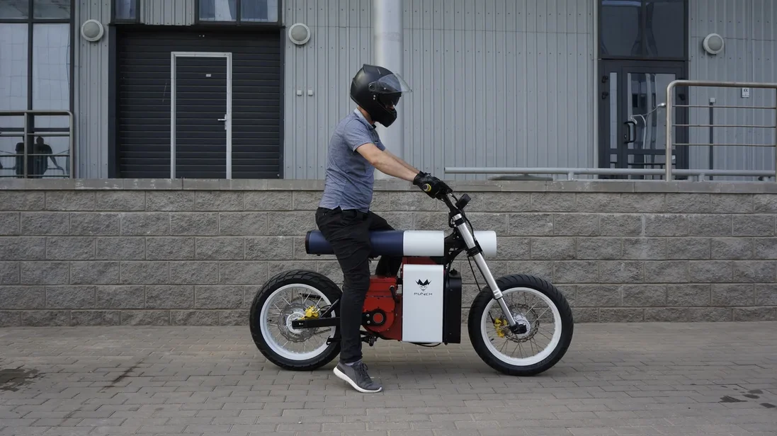 Punch Moto electric motorcycle