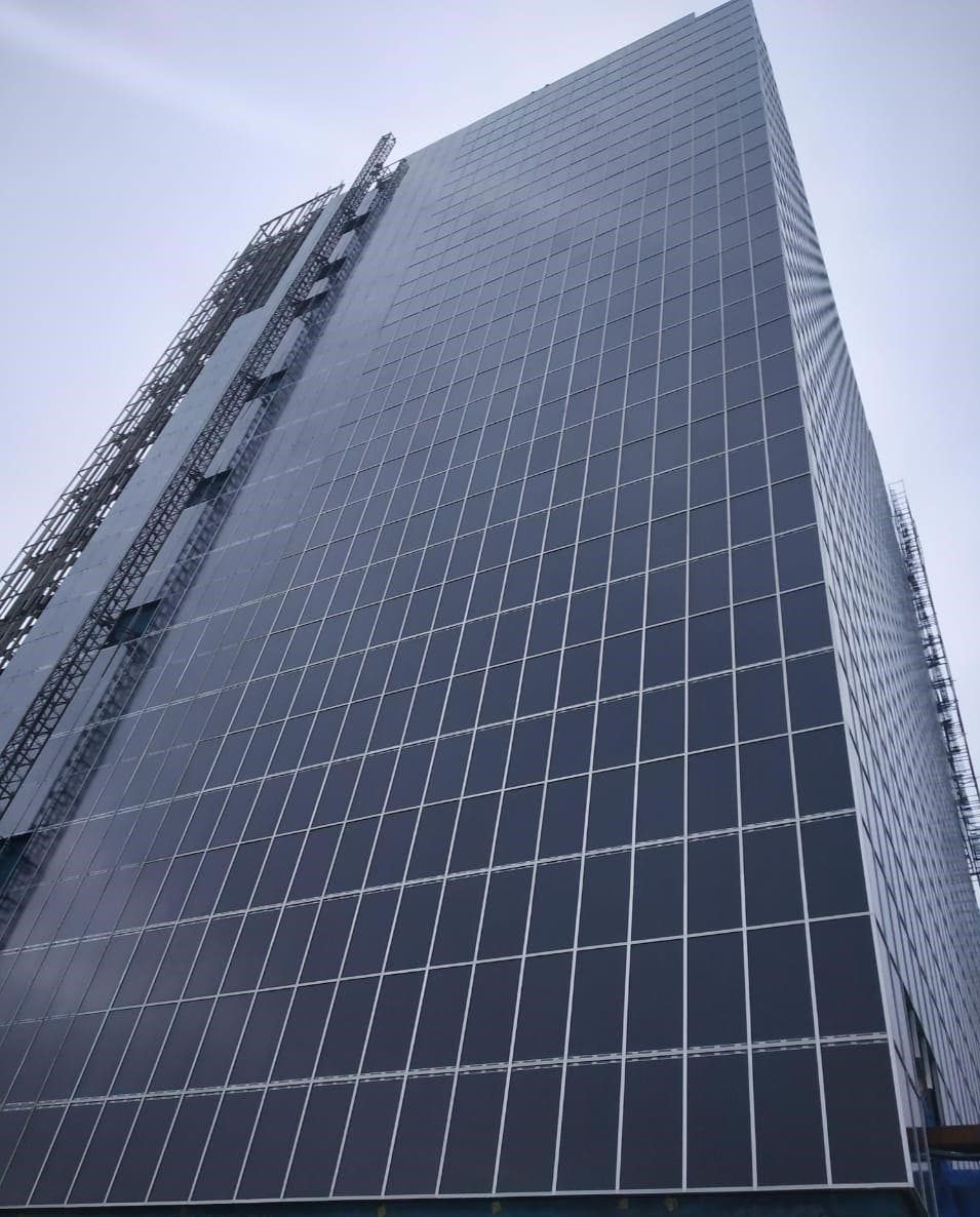 India's largest BIPV system in Mumbai (Photo credit: U-Solar)