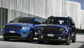 Jeep Renegade and Compass plug-in hybrids