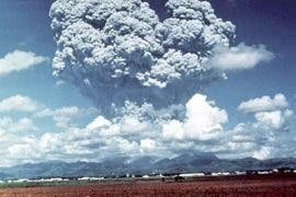 Mt. Pinatubo eruption