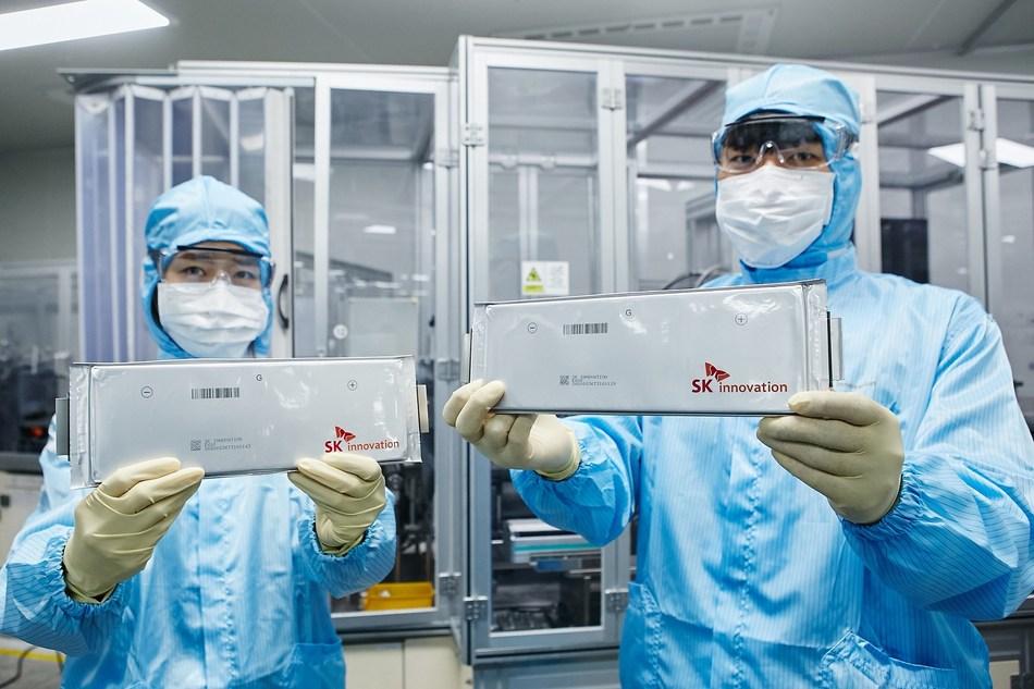 SK Innovation battery
