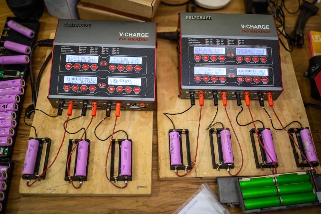 Bodawerk's Power Banks made from upcycled Laptop batteries