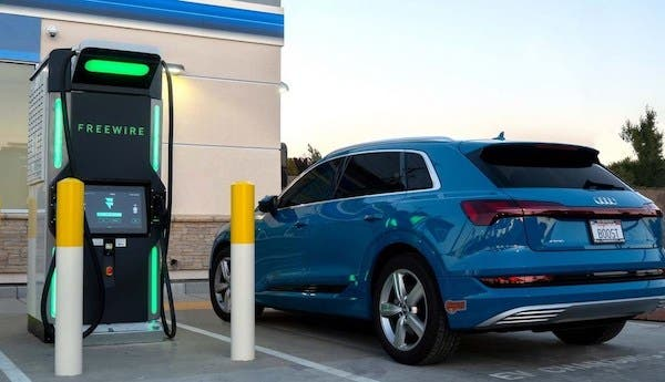 EV charging ultra fast clean power