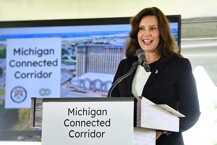 Michigan Building the Road of the Future between Ann Arbor & Detroit
