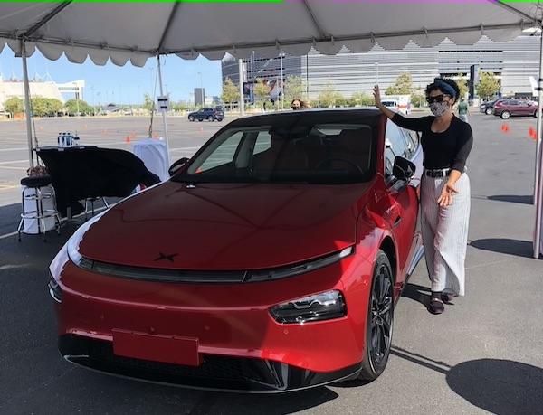 Xpeng P7 electric car jpeg