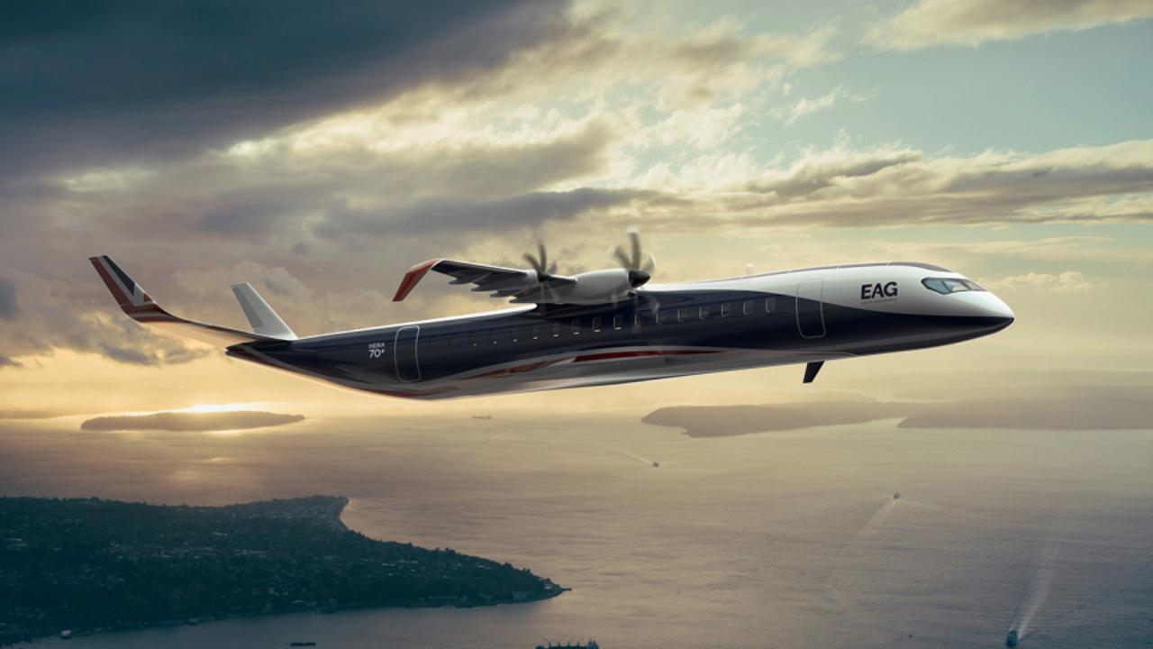 EAG HERA hybrid electric airplane